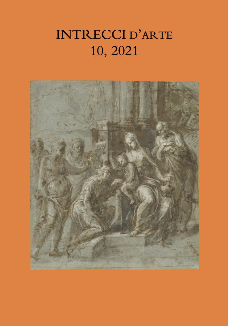 INTRECCI d'arte - 10, 2021, cover image: Biagio Pupini, Adorazione dei Magi, Washington, National Gallery of Art